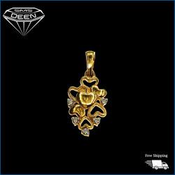 Diamond Pendant  0.08CT-With Certificate   W:1.37   R108927