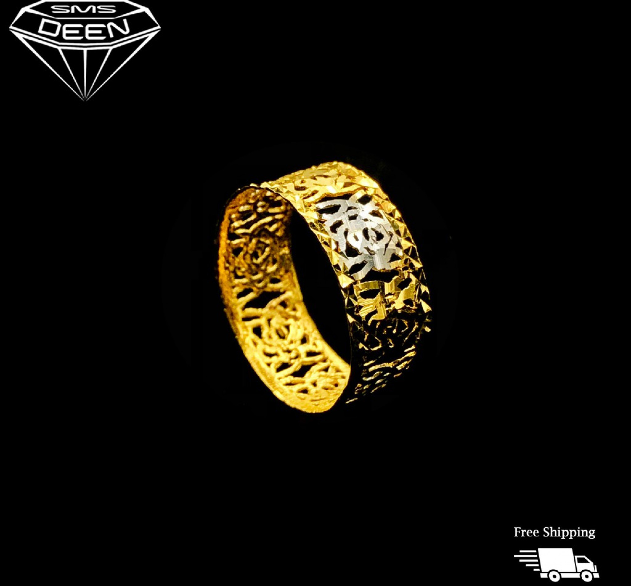 RHODIUM BAND RING [1.65g - BB001958]