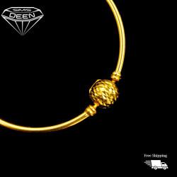 PANDORA 3D BALL LOCK BANGLE [10.31G - R126997]
